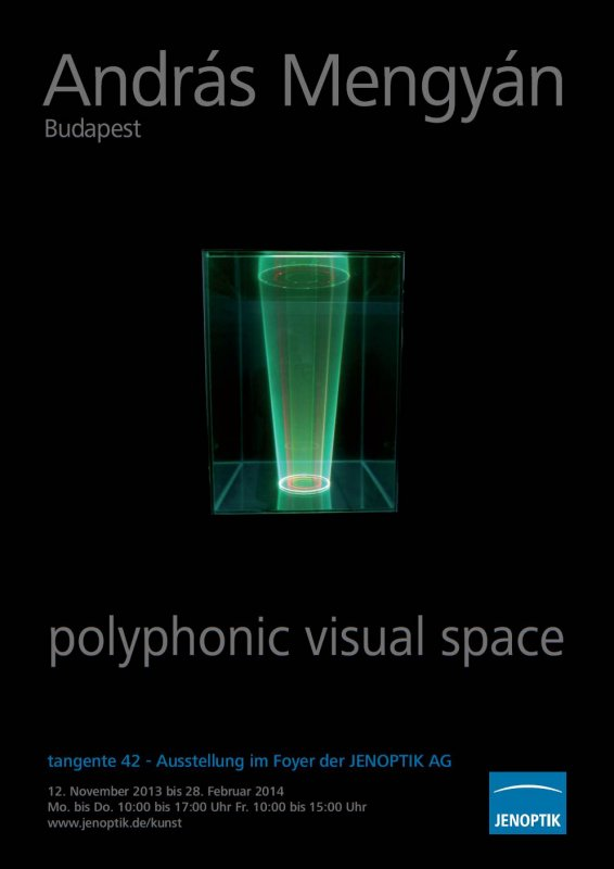 Image -  POLYPHONIC VISUAL SPACE - Andras Menguan